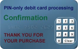 PIN-only debit card processing